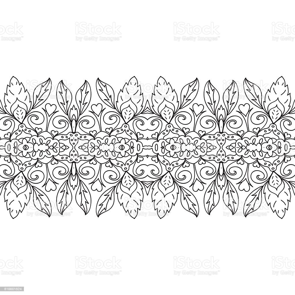 88 Coloring Page Border