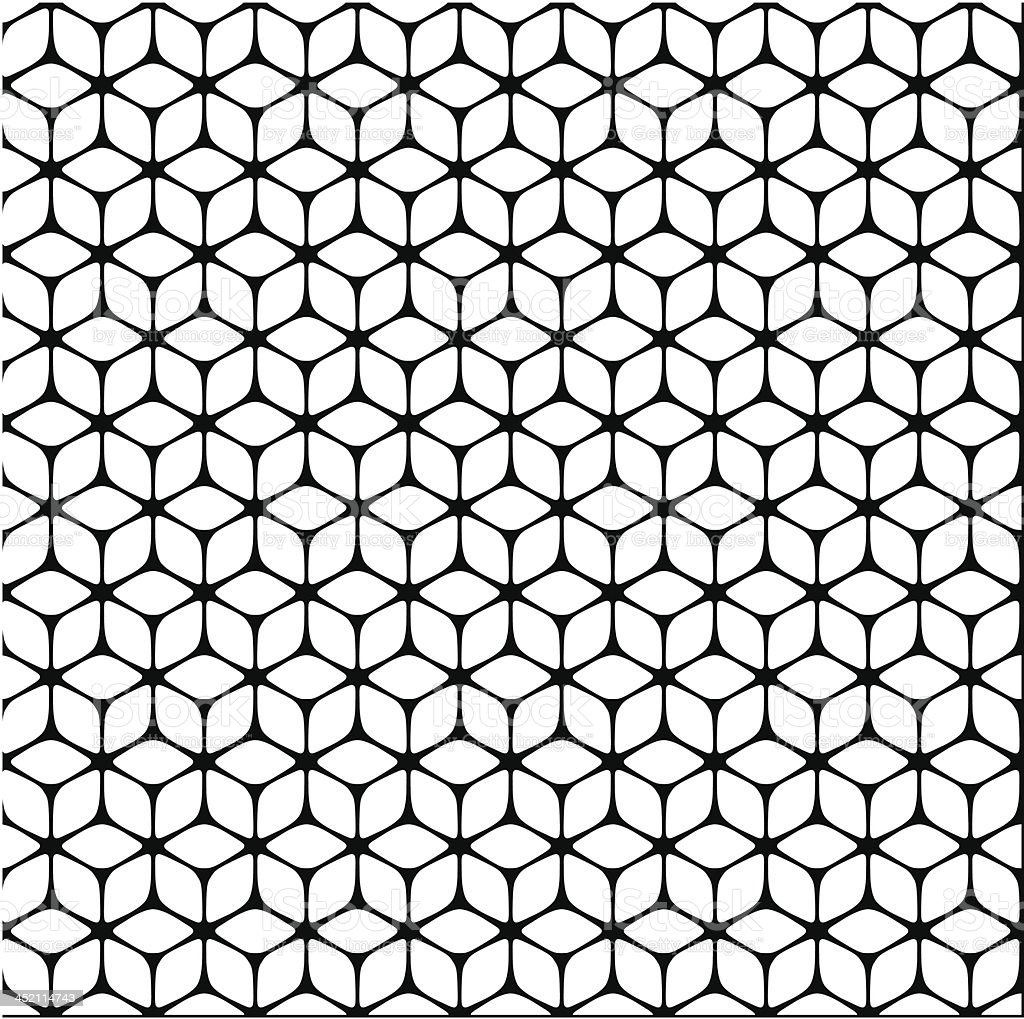 Seamless cubic pattern royalty-free stock vector art