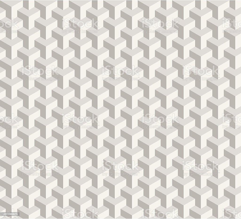 seamless cubism grey royalty-free stock vector art