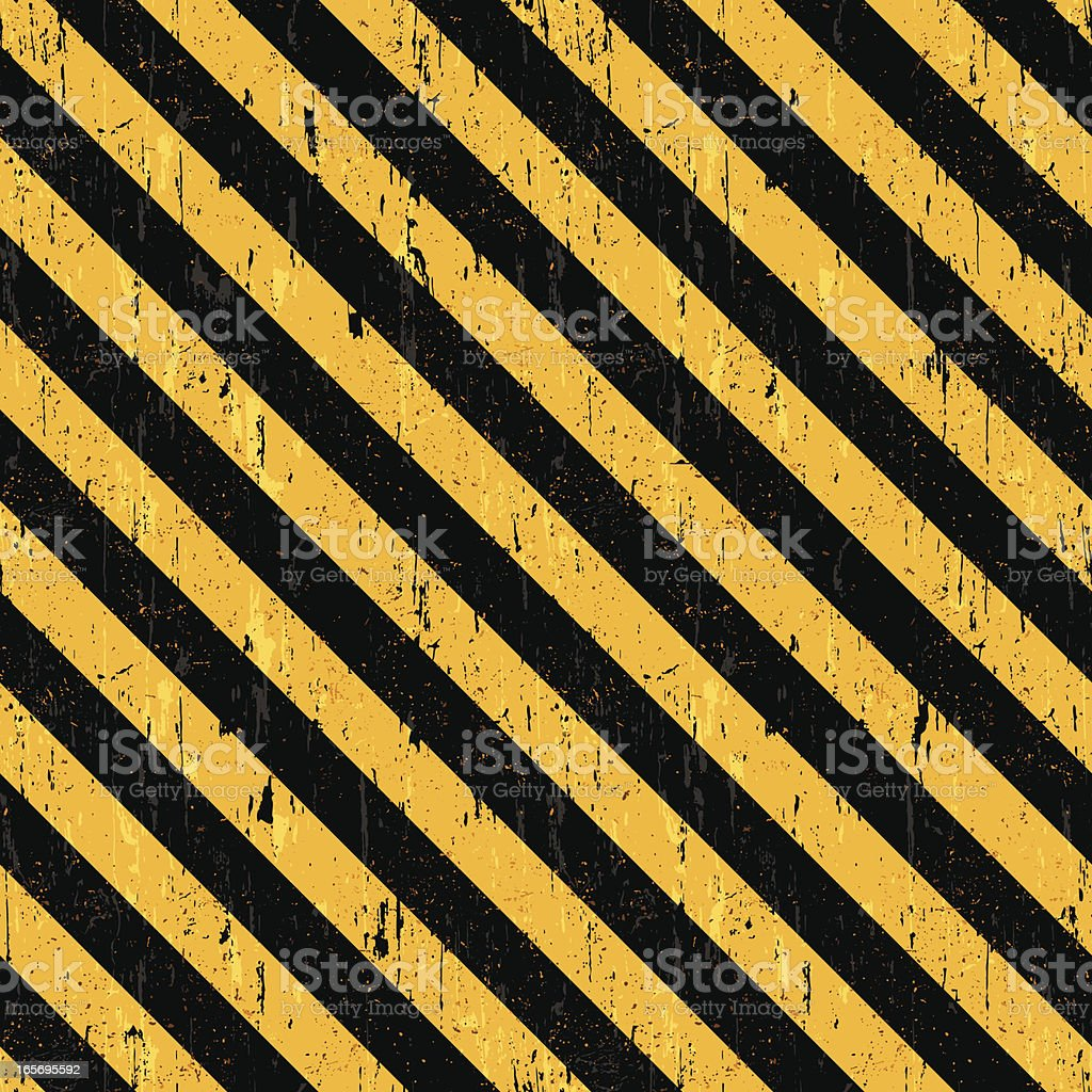 Seamless danger background royalty-free stock vector art