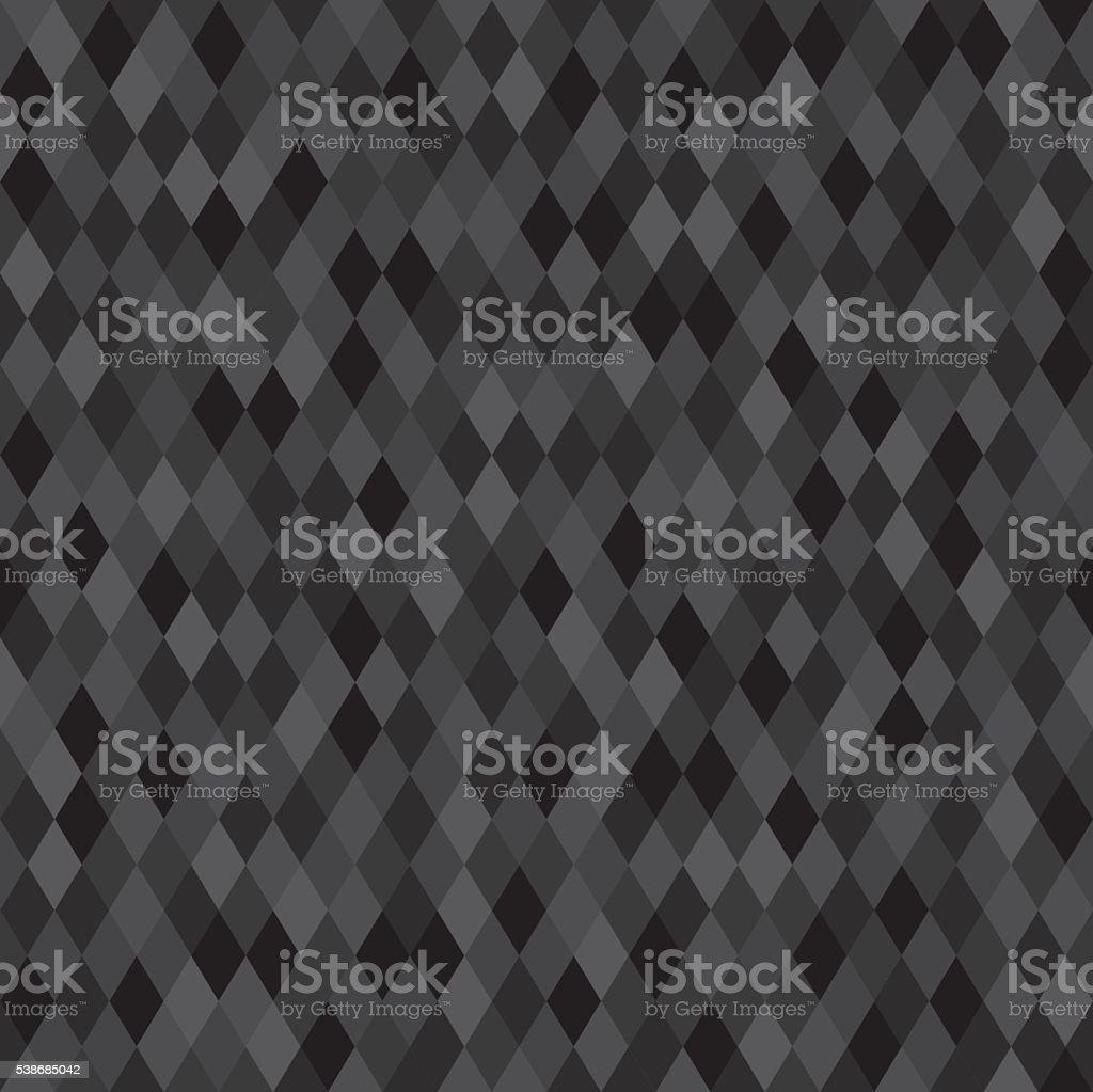 seamless dark neutral pixel background for web design vector art illustration