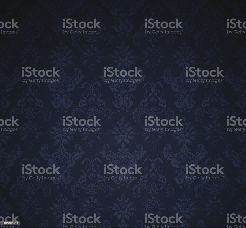 Seamless dark wallpaper background royalty-free stock vector art