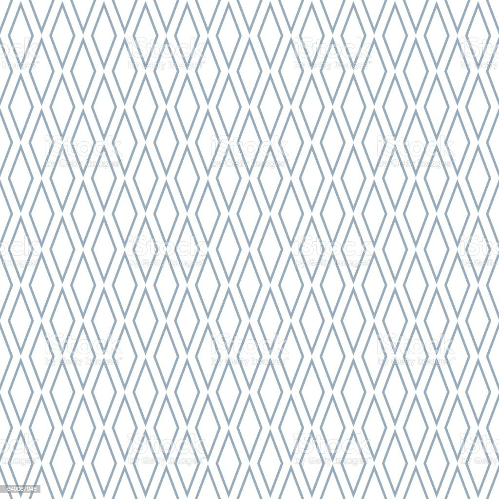 Seamless diamonds pattern. vector art illustration