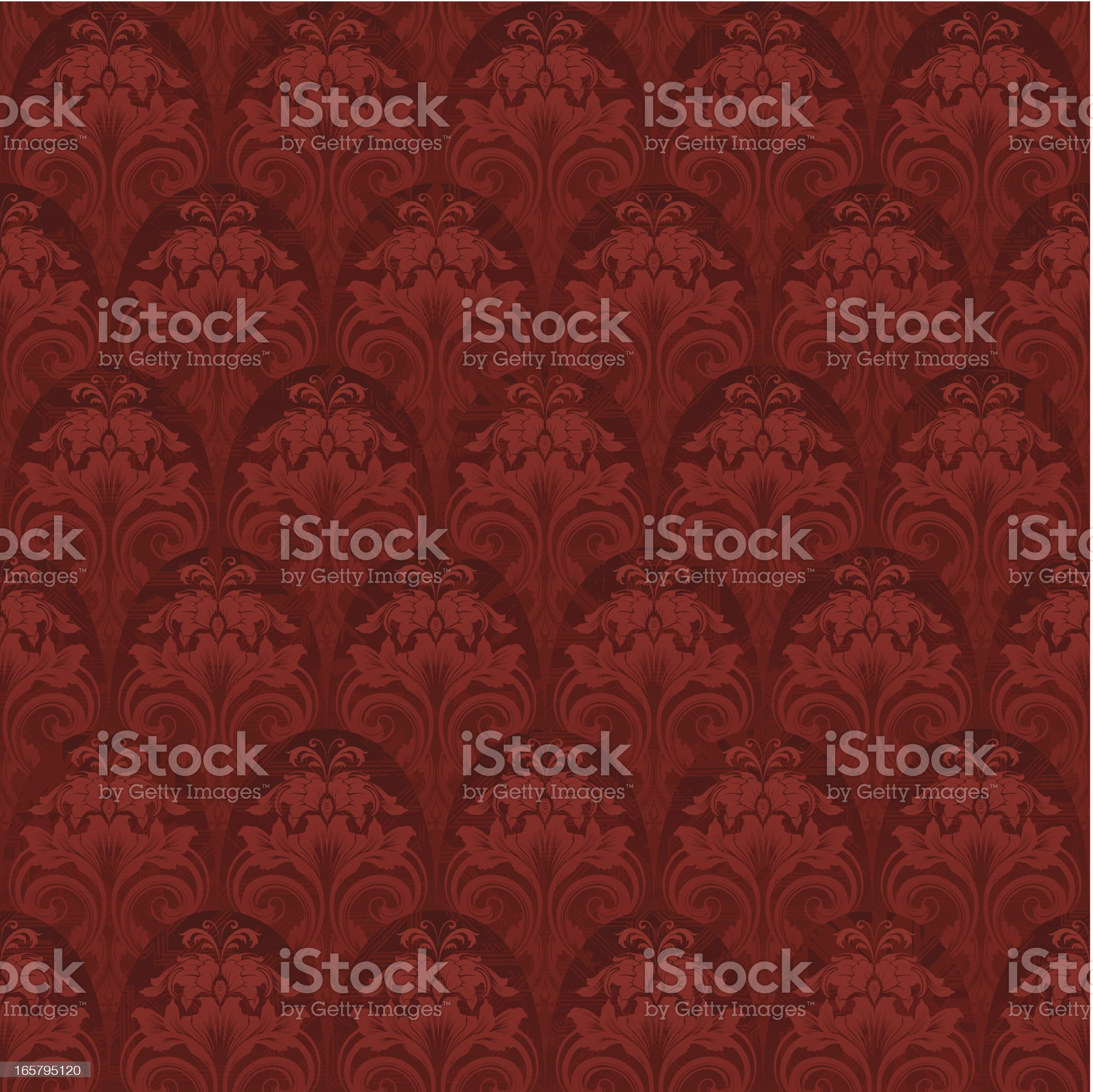 Seamless elegant wallpaper background royalty-free stock vector art