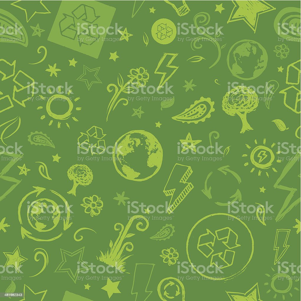 Seamless envrionment background royalty-free stock vector art