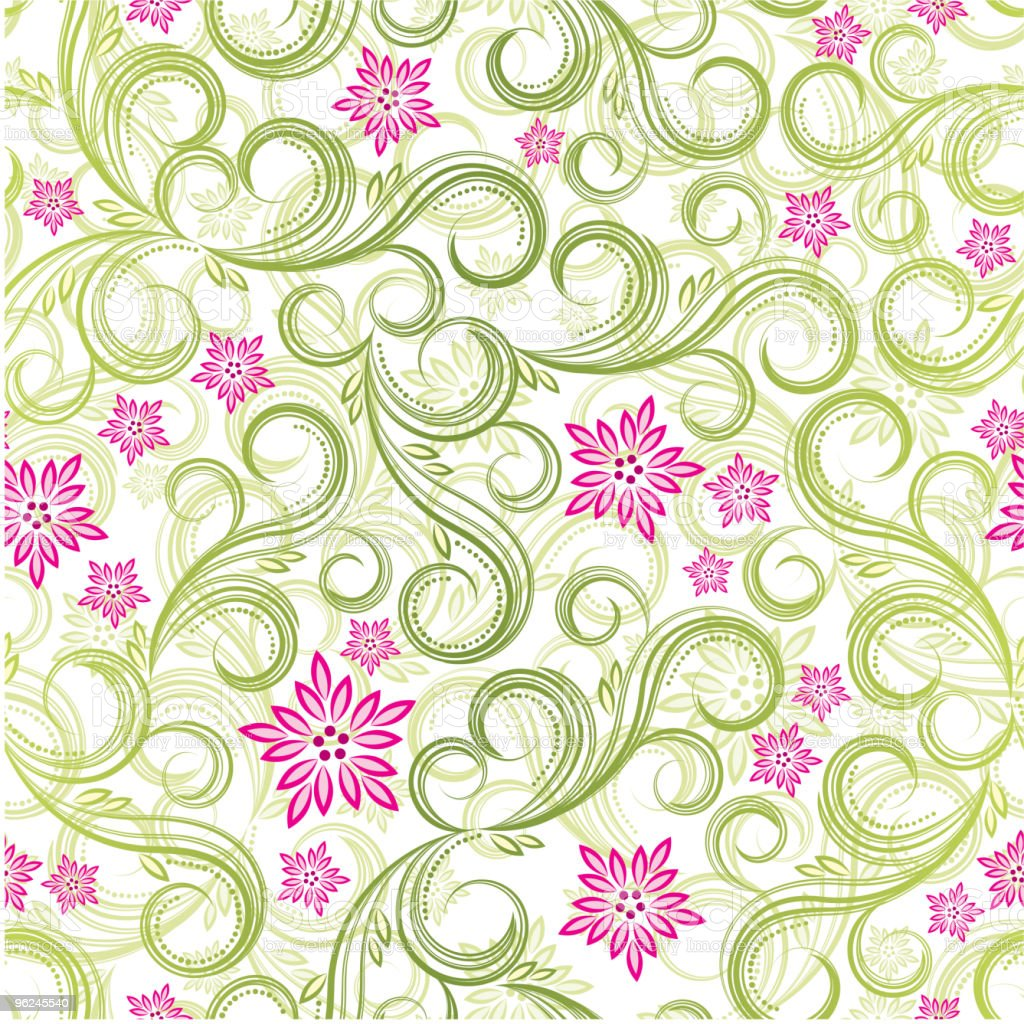 Seamless floral background. royalty-free stock vector art