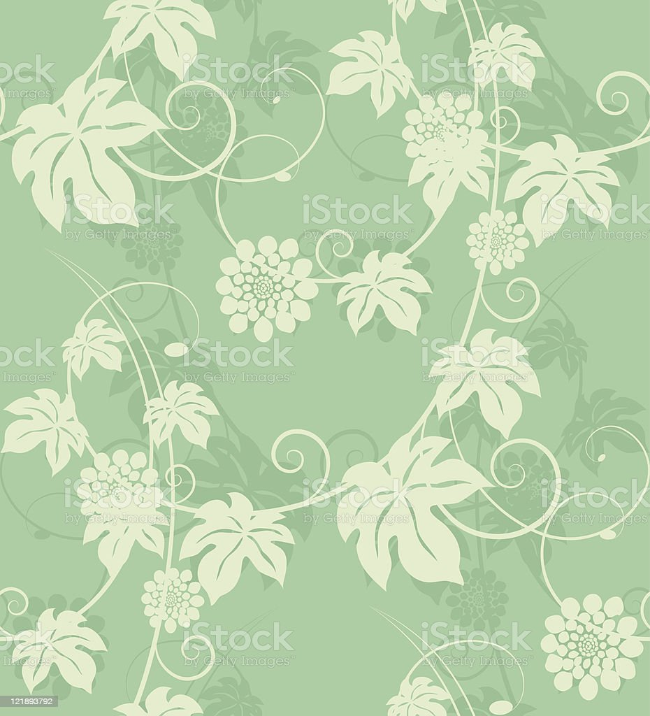 Seamless floral background. Vector illustration. royalty-free stock vector art