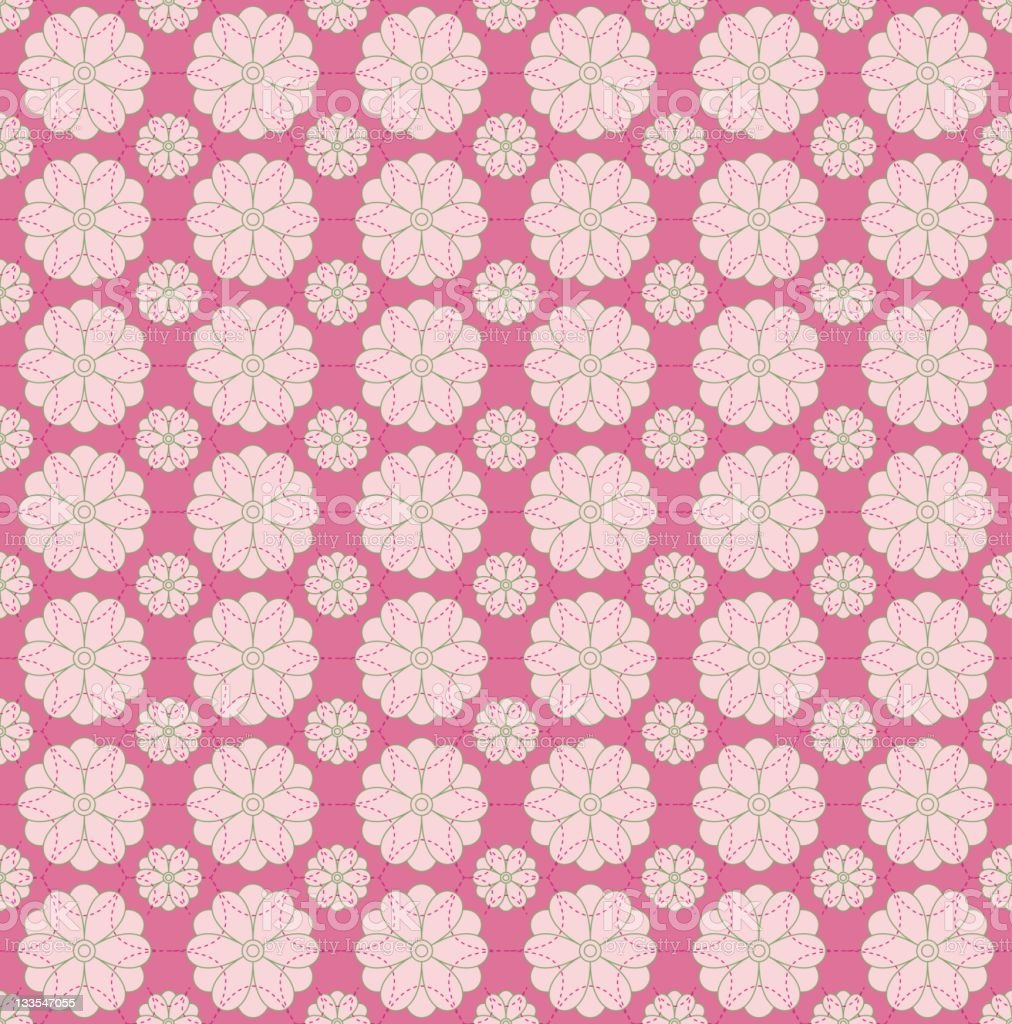 Seamless Floral pattern background royalty-free stock vector art