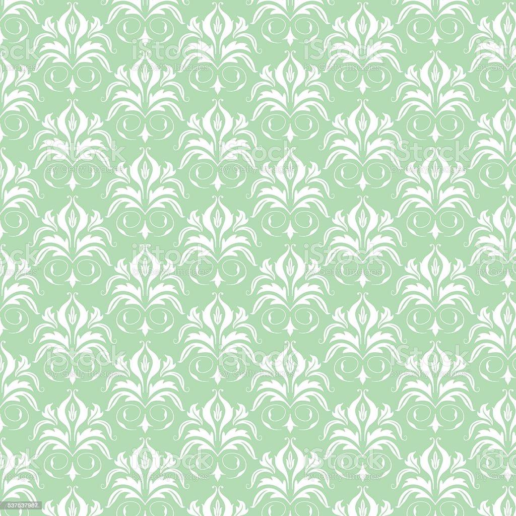 seamless floral patrn de papel tapiz barroco libre de derechos libre de derechos