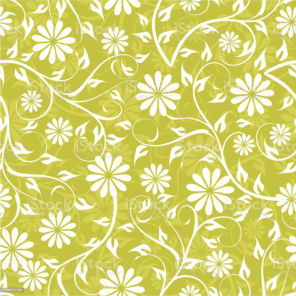 Seamless floral pattern . royalty-free stock vector art