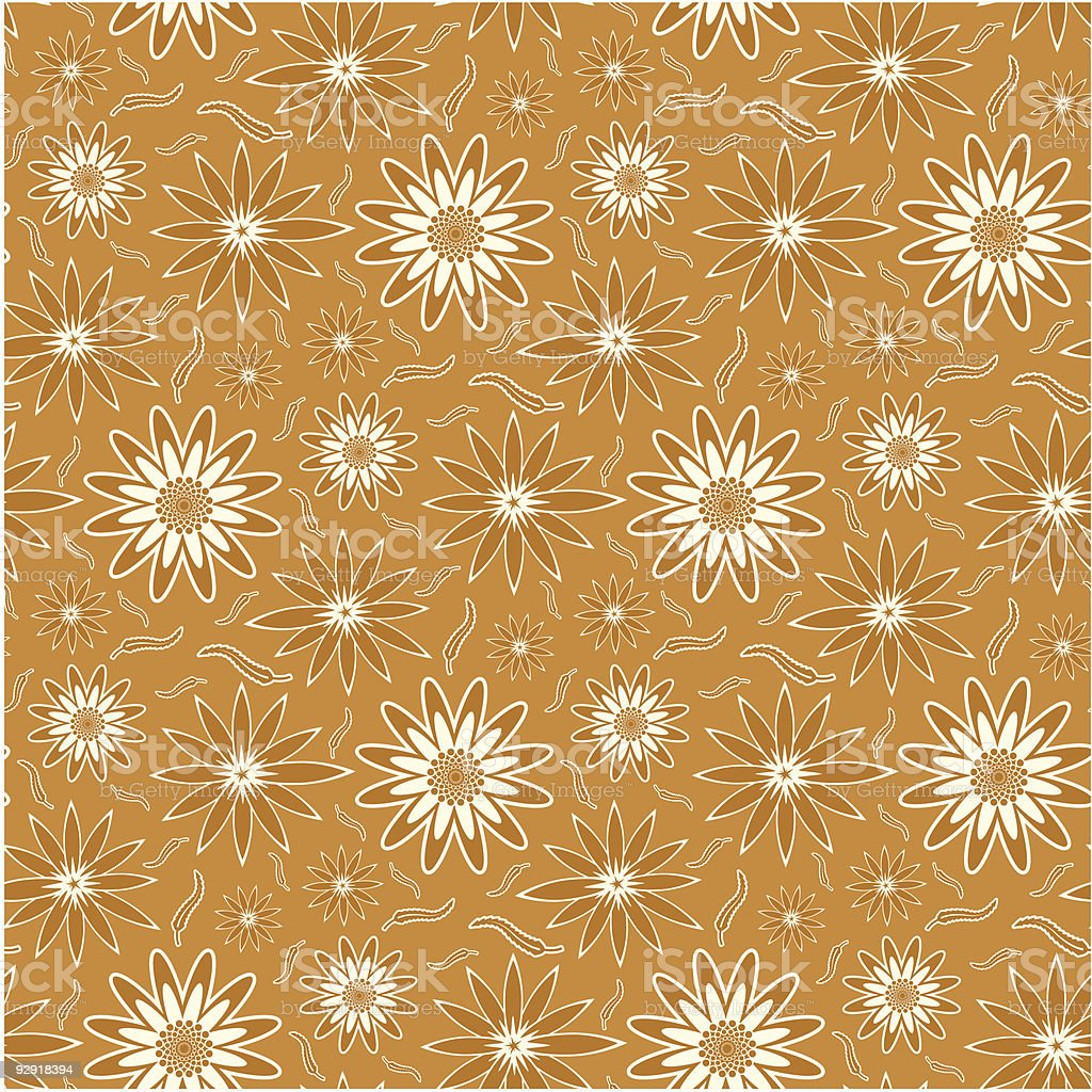 Seamless Floral Pattern royalty-free stock vector art