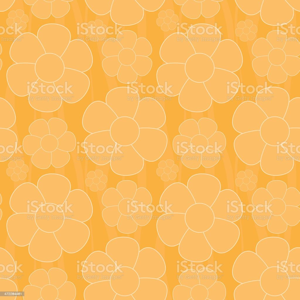 seamless flower background royalty-free stock vector art