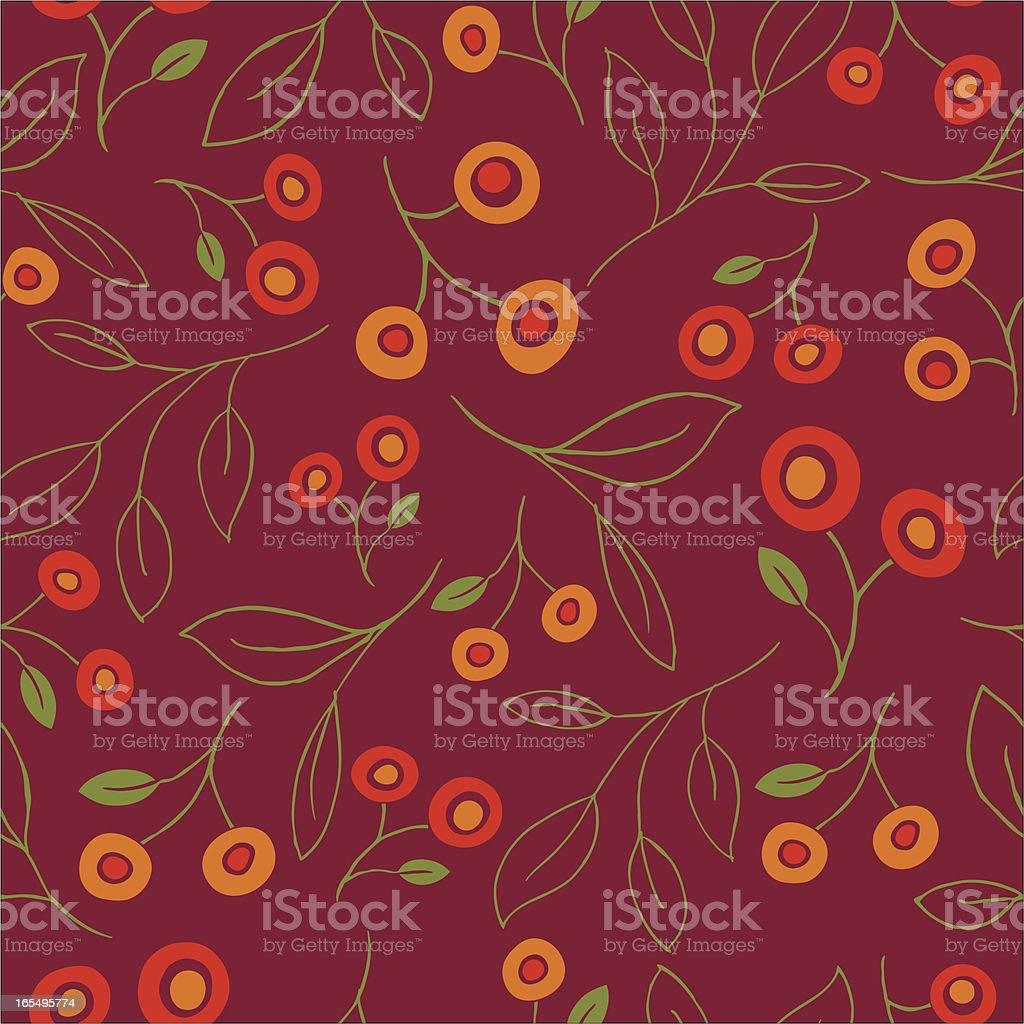 Seamless Flower Pattern royalty-free stock vector art