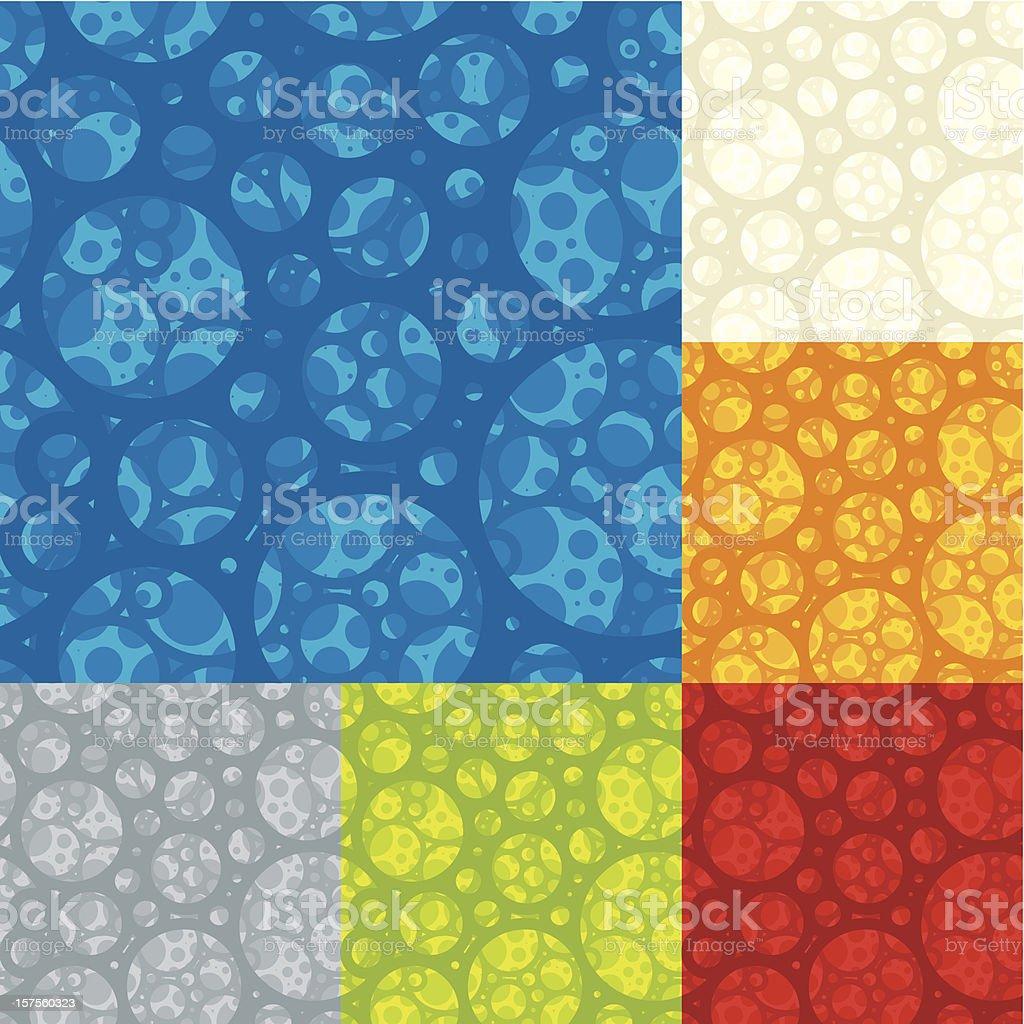 seamless foam (1 credit) royalty-free stock vector art