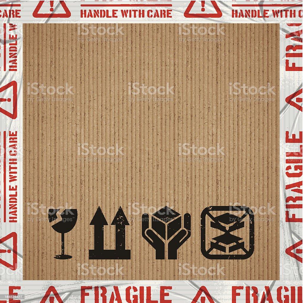 seamless fragile tile vector art illustration