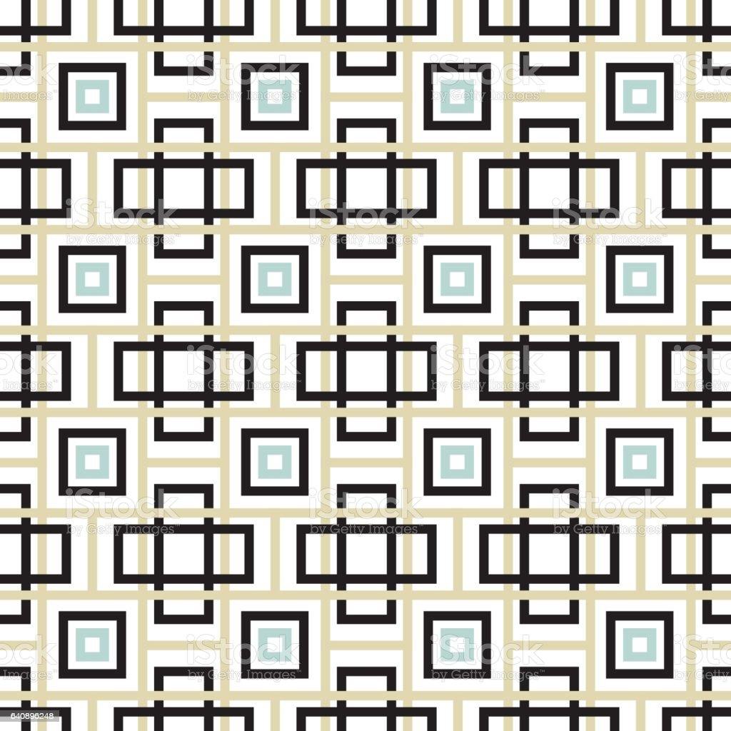 Seamless Geometric Background Pattern vector art illustration