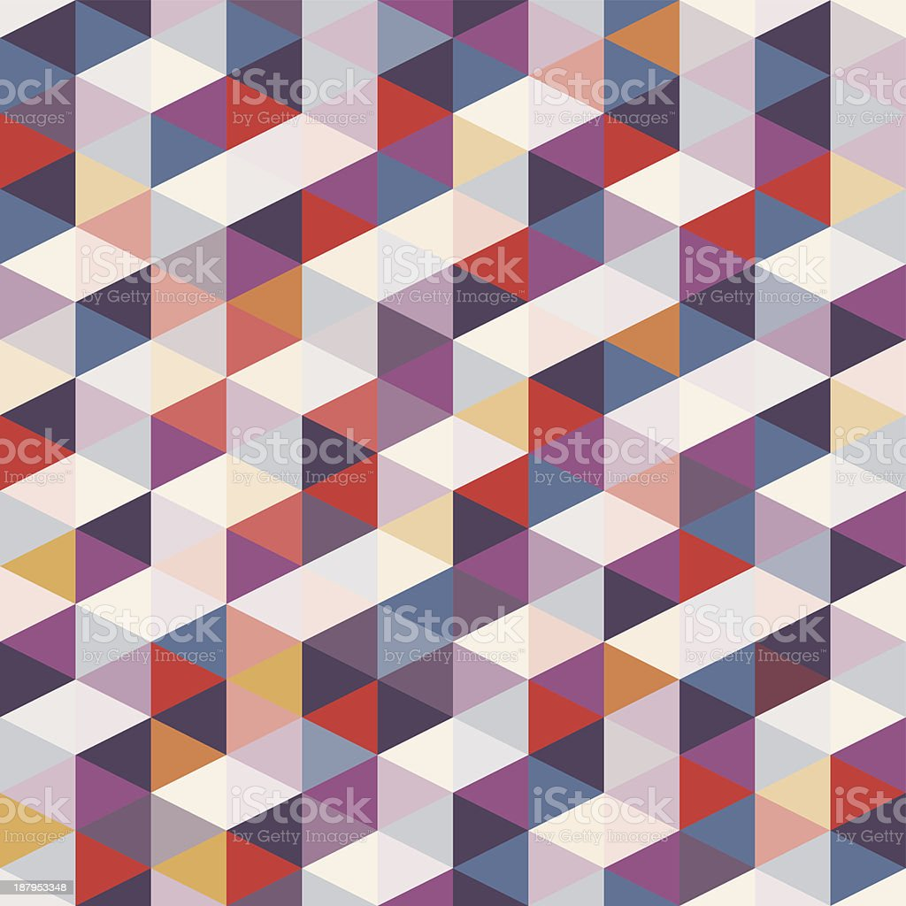A seamless geometric background royalty-free stock vector art