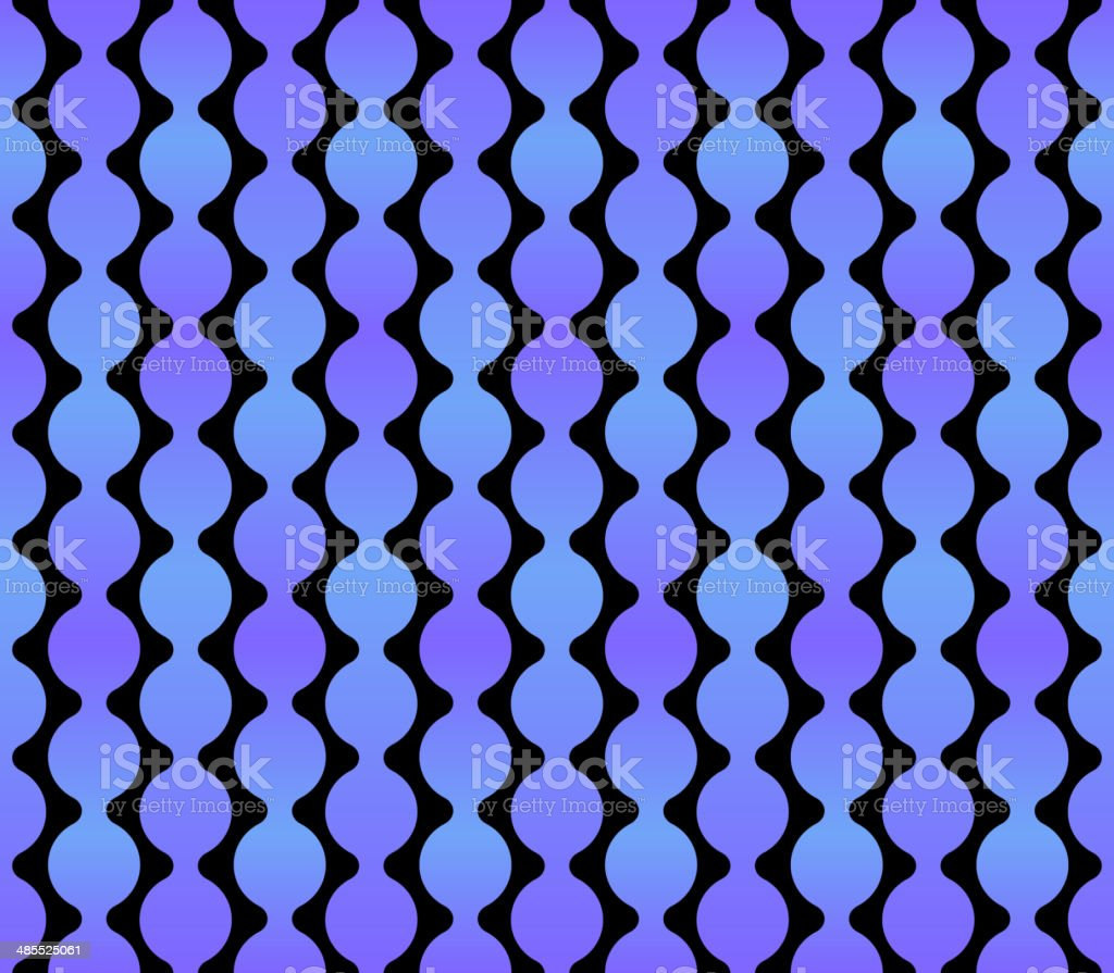 Seamless Geometric Blue Background with Dark Back. Vector royalty-free stock vector art
