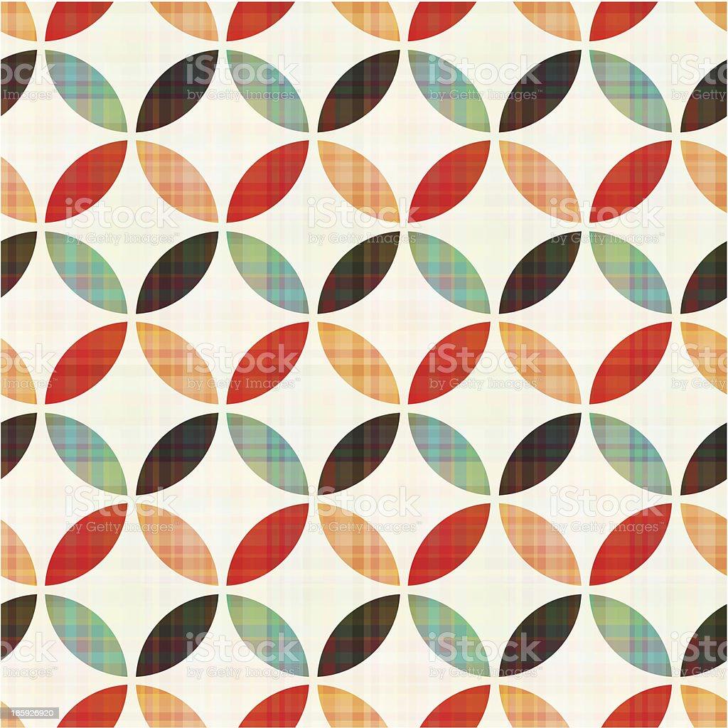 seamless geometric circular pattern royalty-free stock vector art