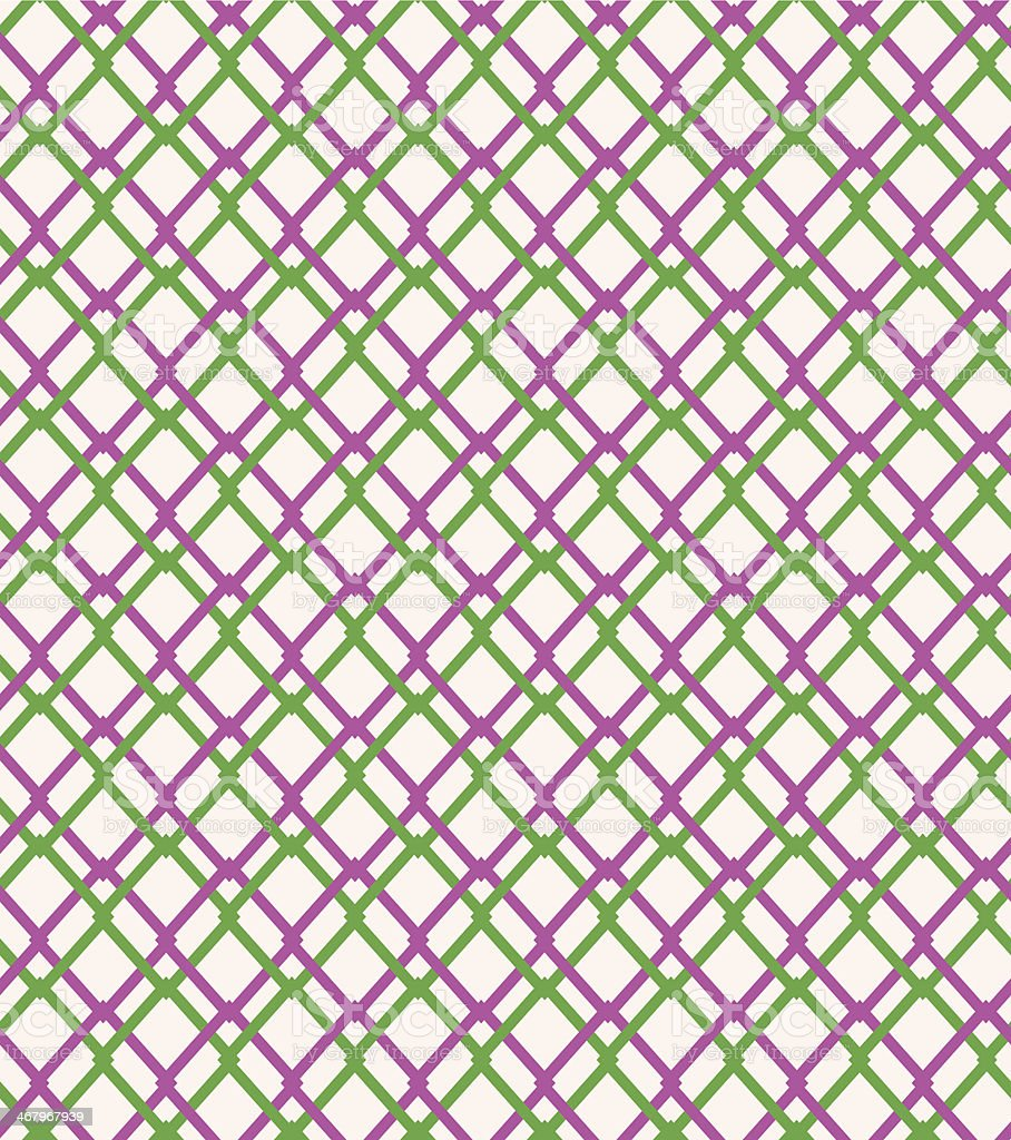 Seamless geometric netting pattern royalty-free stock vector art