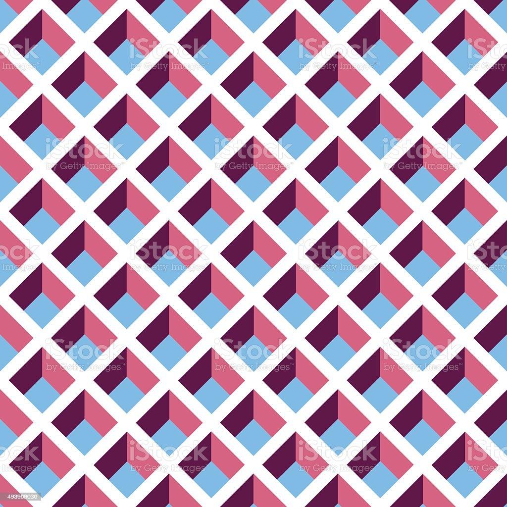 Seamless Geometric Pattern Texture Background Wallpaper vector art illustration