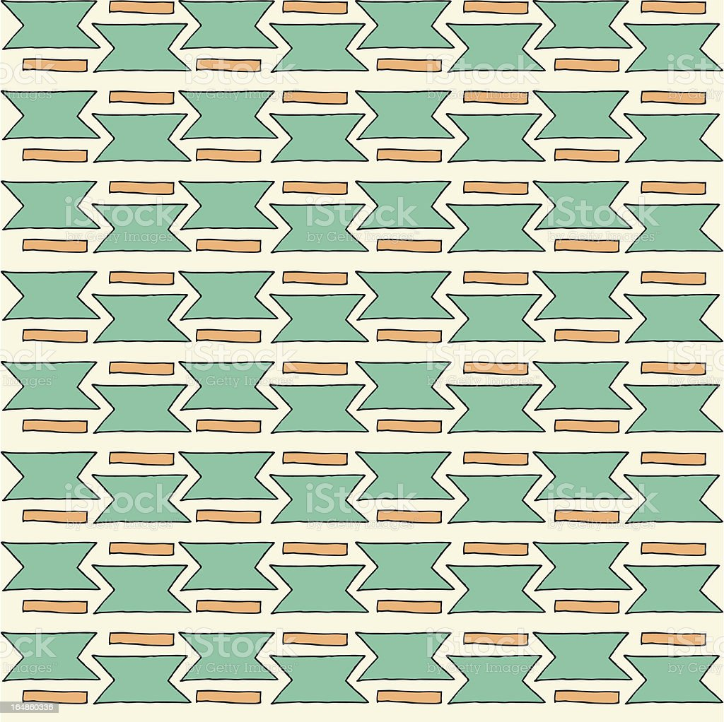 Seamless geometric pattern. royalty-free stock vector art