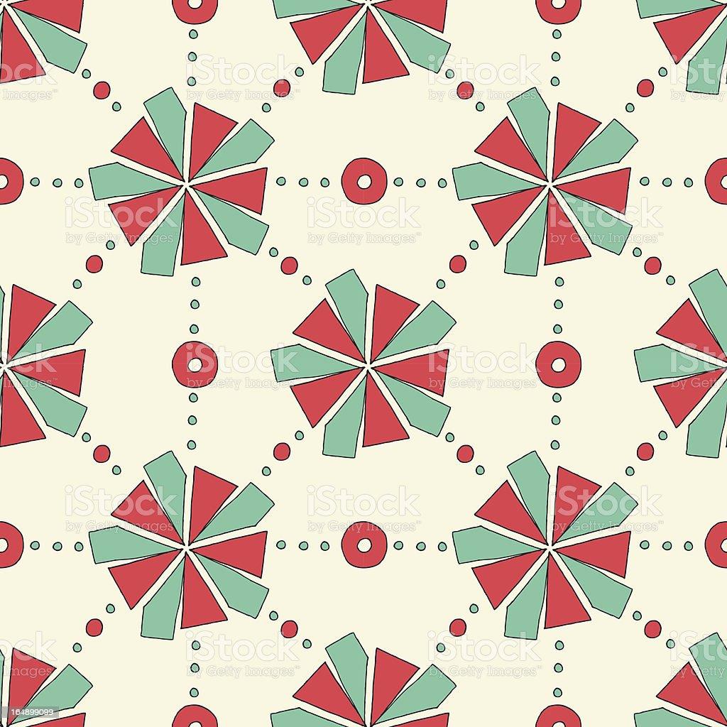 Seamless geometric pattern. royalty-free stock vector art