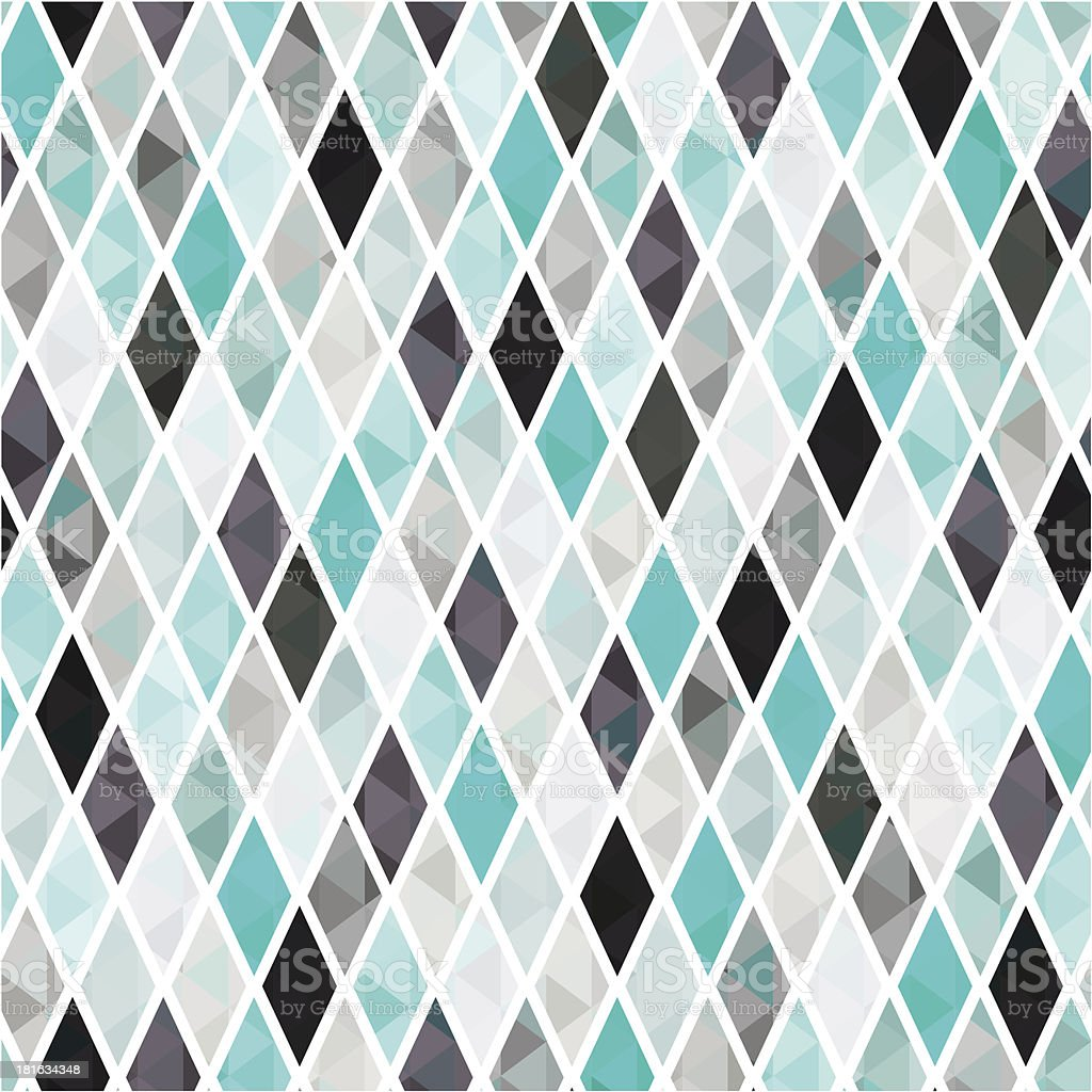 seamless geometric rhombus pattern royalty-free stock vector art