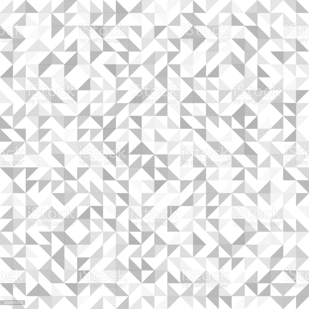 Seamless geometric, vintage pattern. With triangles. vector art illustration