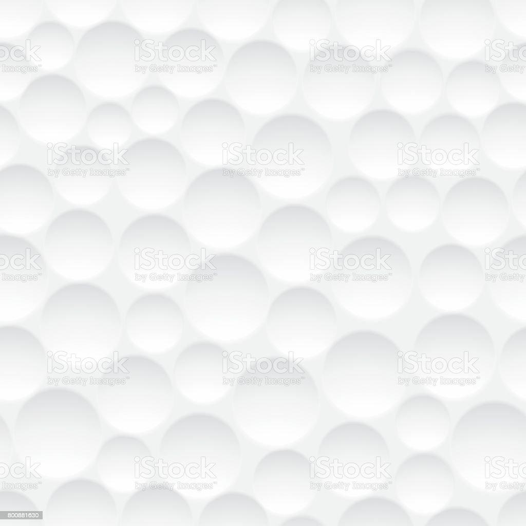 Seamless golf ball pattern vector art illustration
