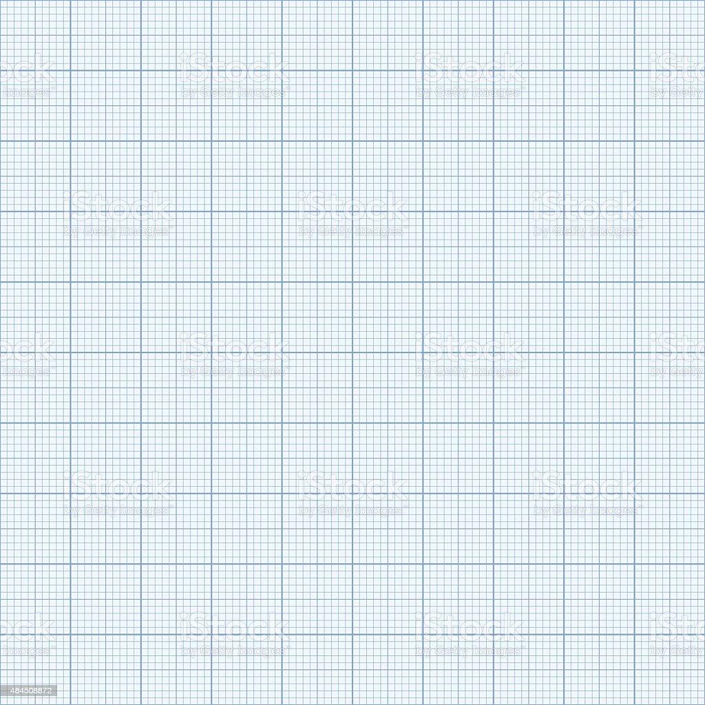 Seamless Graph paper. vector art illustration