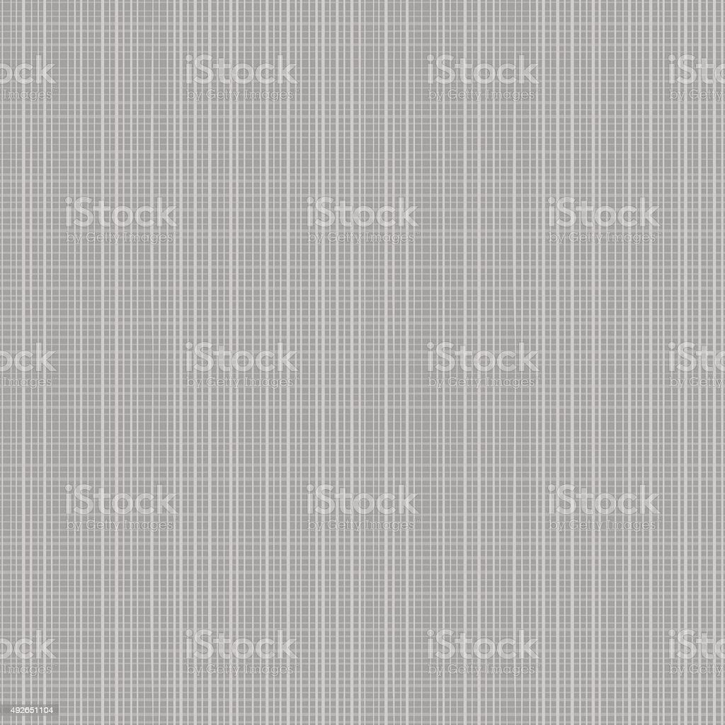 Seamless gray canvas or fabric texture vector art illustration