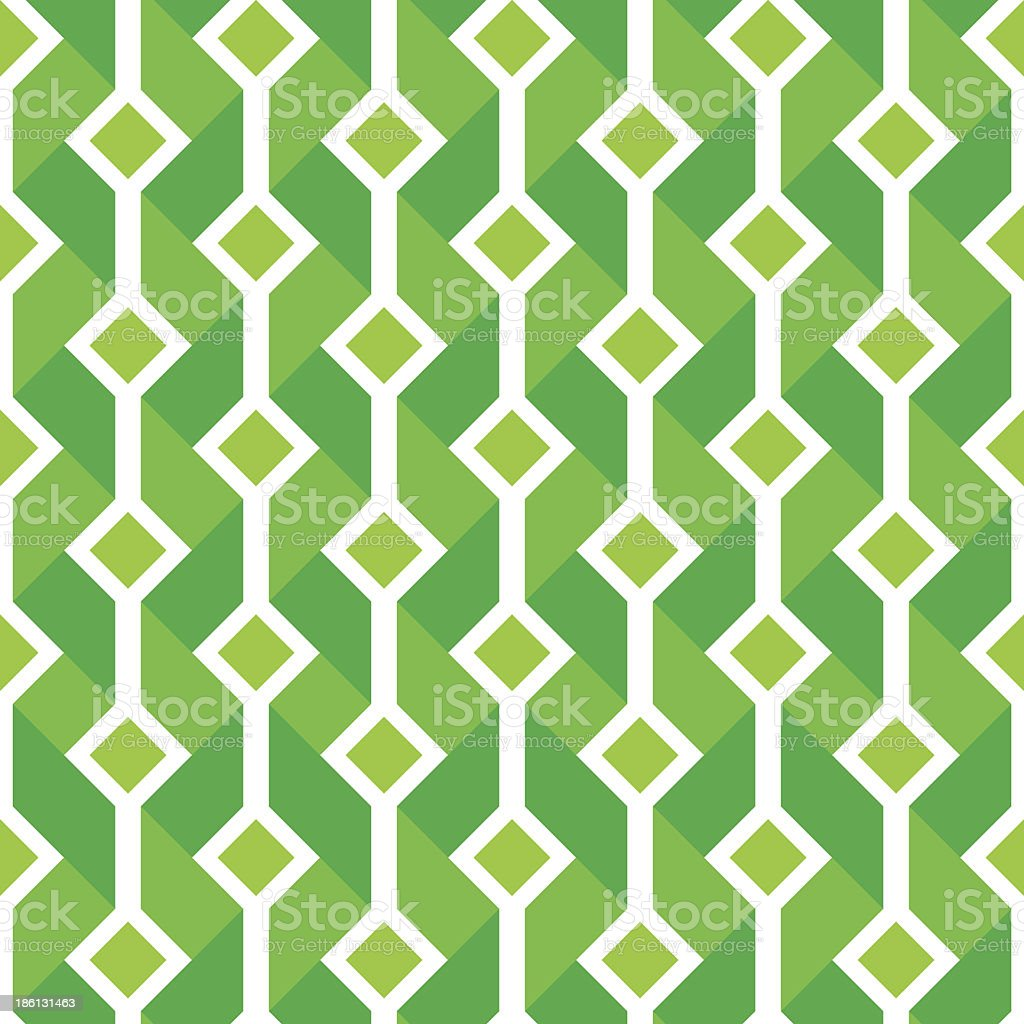 Seamless green and white background royalty-free stock vector art