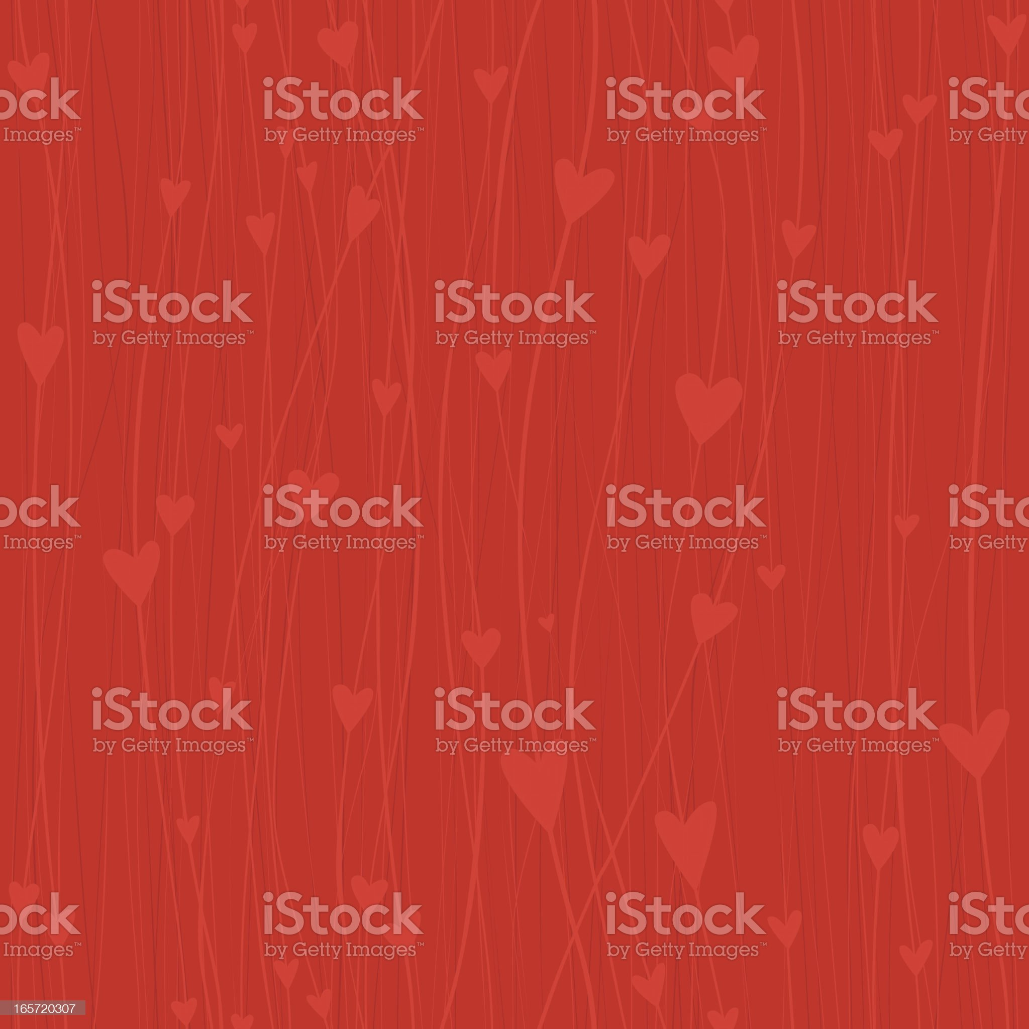 Seamless Heart background royalty-free stock vector art
