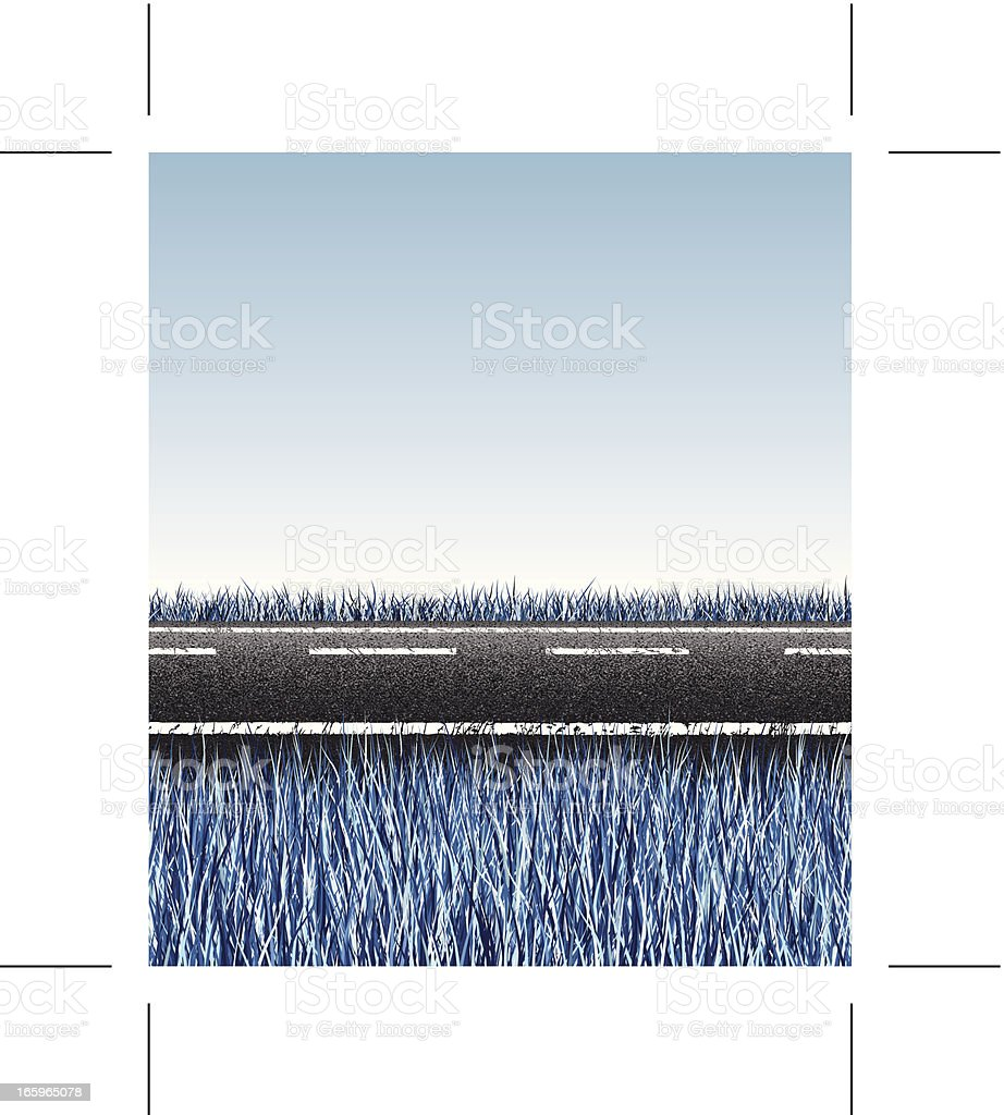 seamless icy road background royalty-free stock vector art