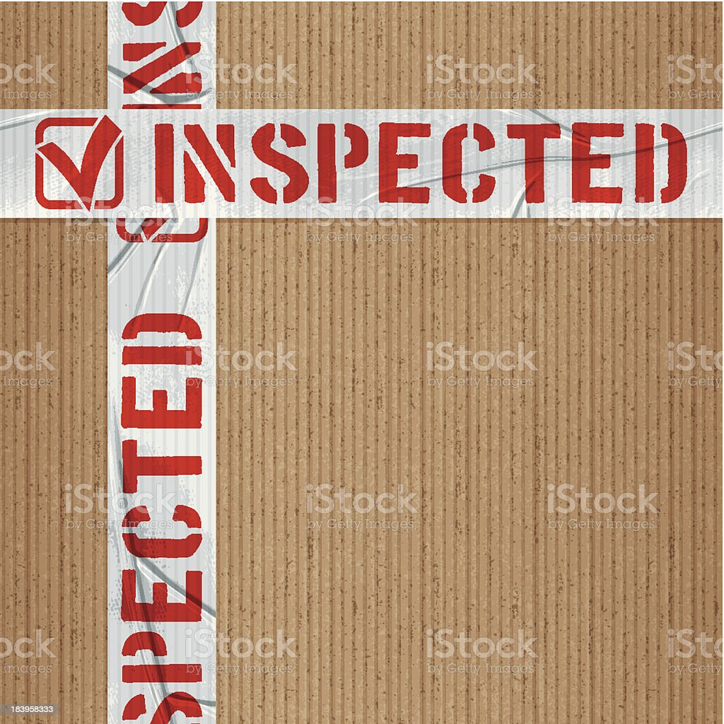 seamless inspected tile royalty-free stock vector art