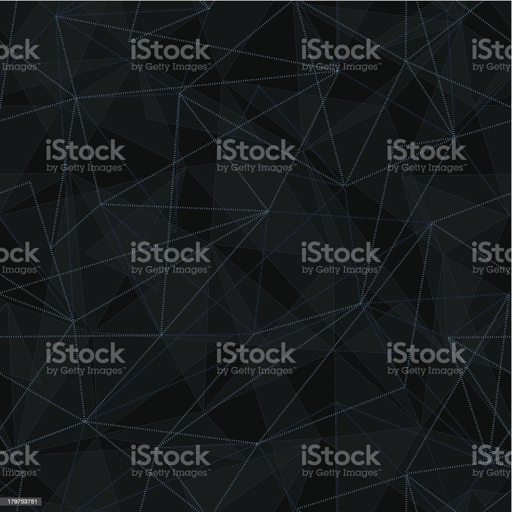 Seamless Interconnecting Network Background royalty-free stock vector art