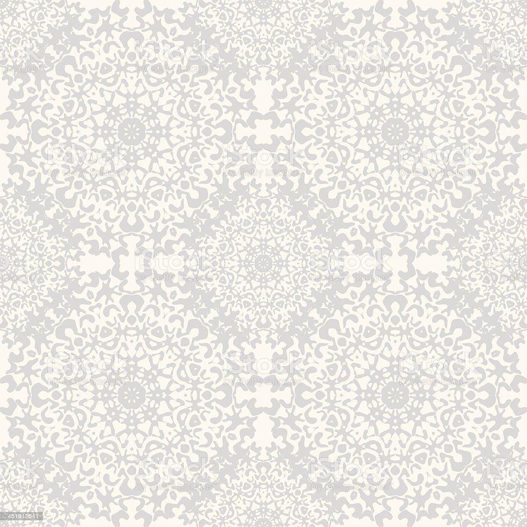 Seamless kaleidoscope lace pattern. royalty-free stock vector art