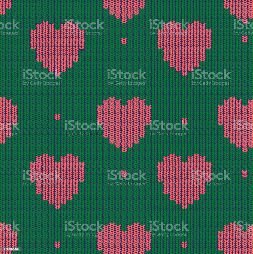 seamless knitted background royalty-free stock vector art