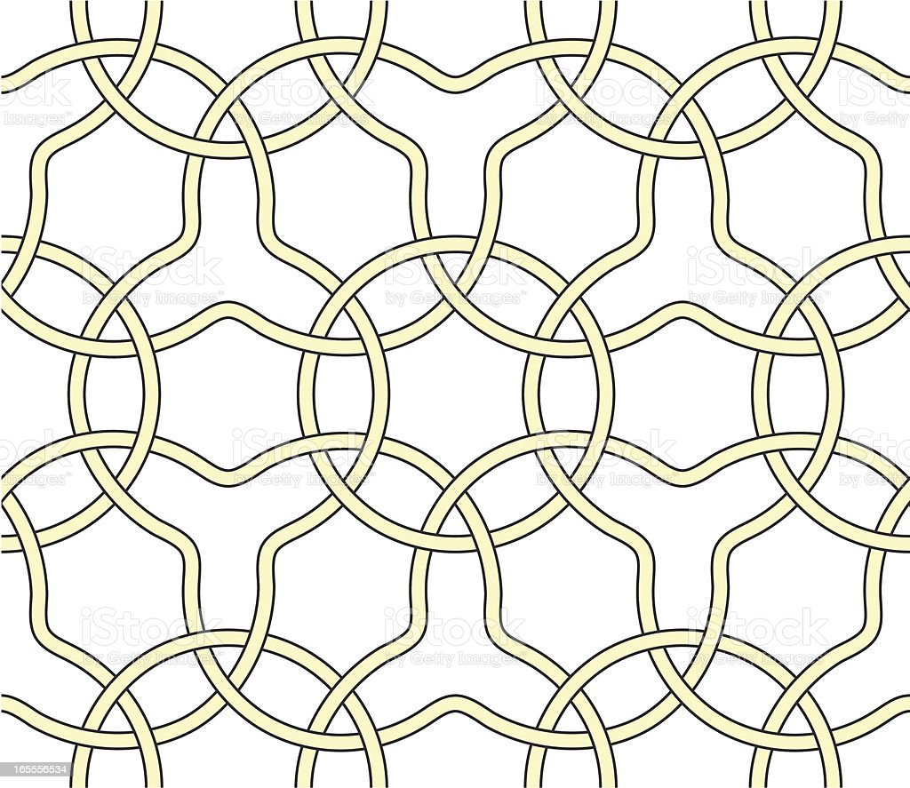 seamless knot pattern royalty-free stock vector art