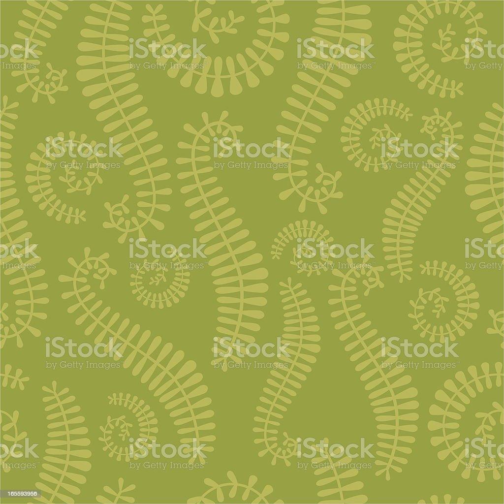 Seamless Leaf Pattern royalty-free stock vector art
