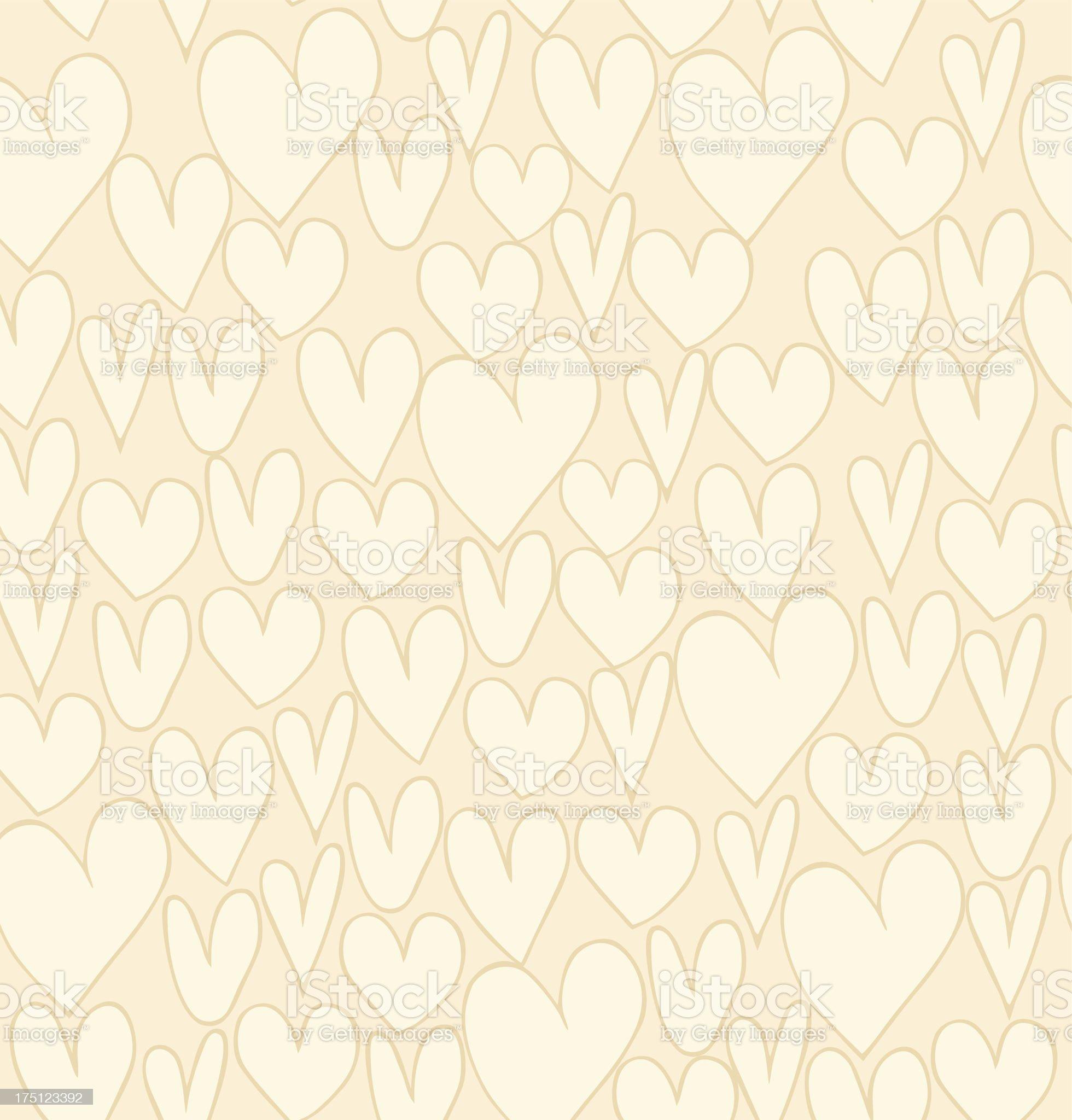 Seamless light love pattern royalty-free stock vector art