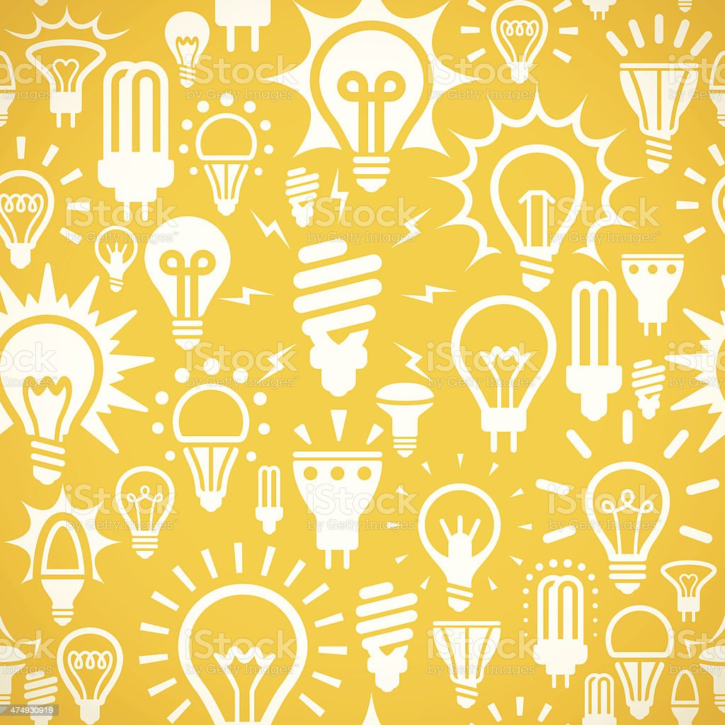 Seamless Lights Background vector art illustration