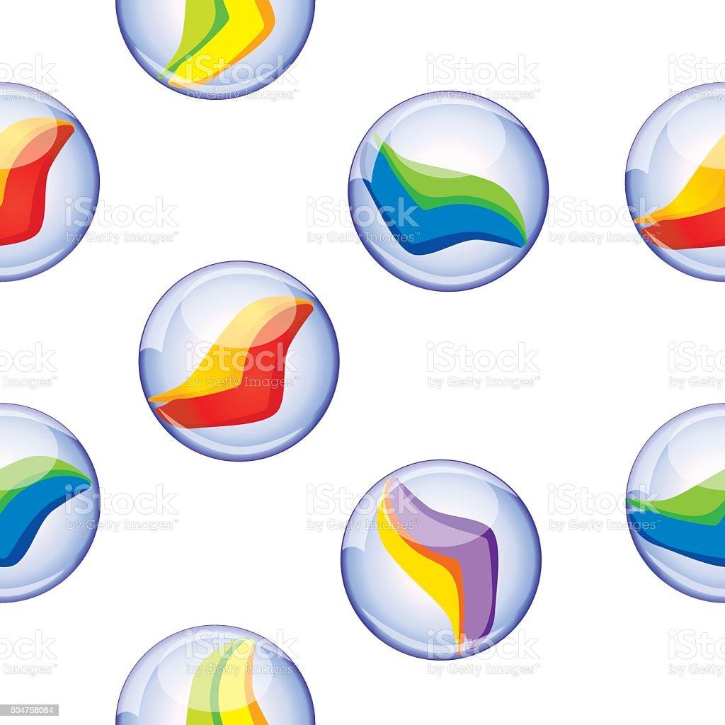Seamless Marble Background vector art illustration