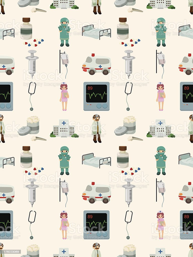 seamless Medical pattern royalty-free stock vector art