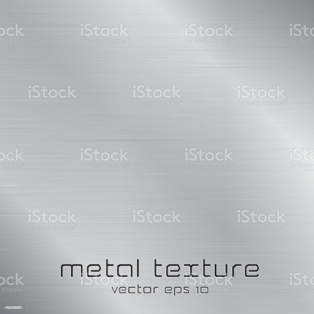Seamless metal texture background vector art illustration