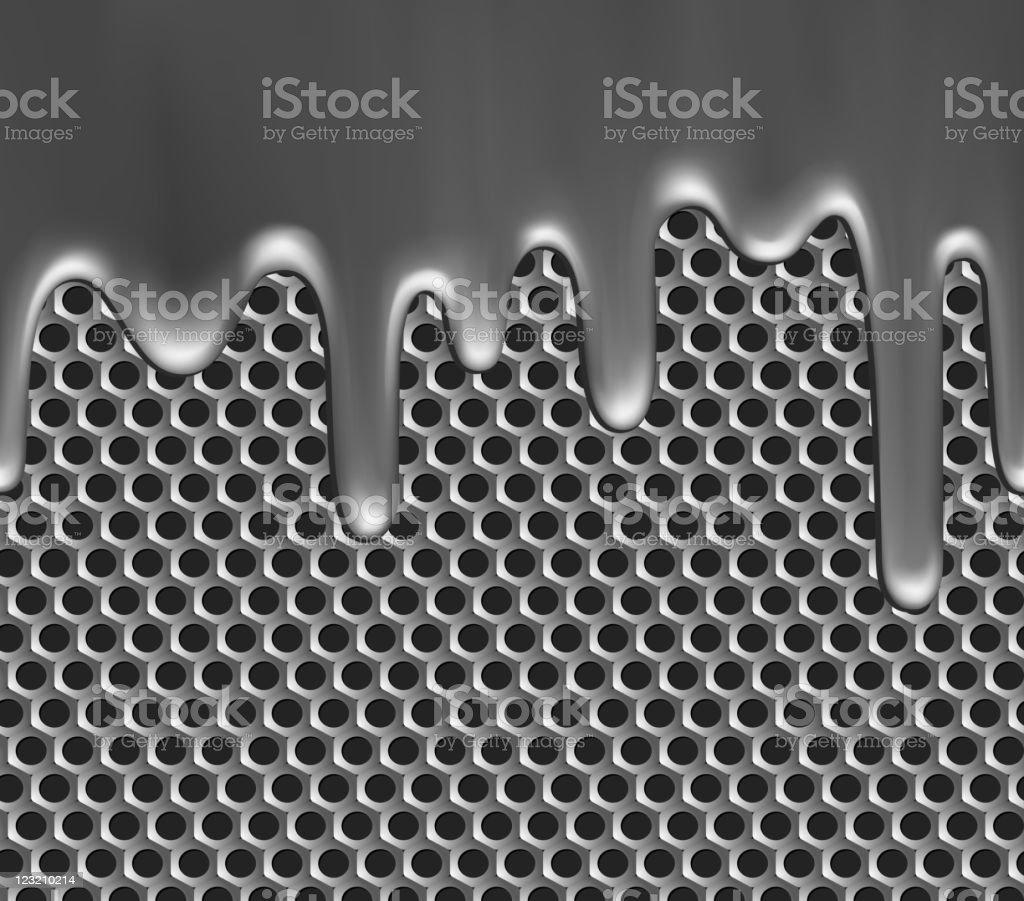 Seamless metallic background royalty-free stock vector art
