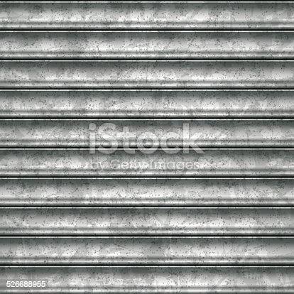 Steel Garage Door Texture seamless metallic sheet garage door backgroundvector stock vector