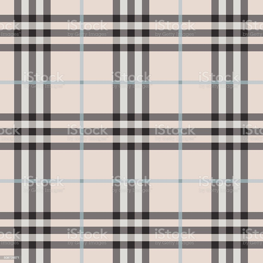 Seamless modern and trendy pink plaid pattern royalty-free stock vector art