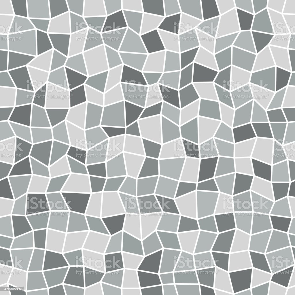 Seamless mosaic pattern royalty-free stock vector art